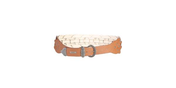 Dámsky kožený opasok v hnedej farbe Bonavita