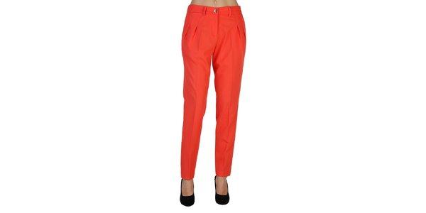Dámske korálovo červené nohavice Bonavita