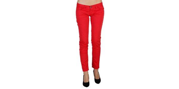 Dámske červené nohavice Bonavita