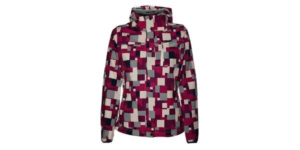 Dámska ružová softshellová bunda Loap
