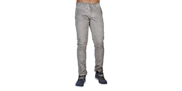 Pánske vintage šedé nohavice Bonavita