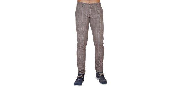 Pánske kockované nohavice Bonavita