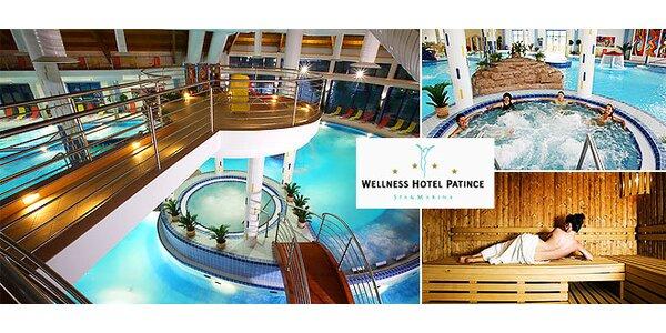 Luxusný relax vo Wellness Hoteli Patince****