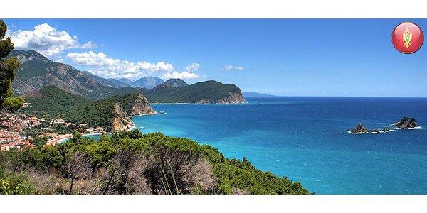 Čierna Hora na 7 alebo 10 nocí. Štúdio s vlastnou plážou!
