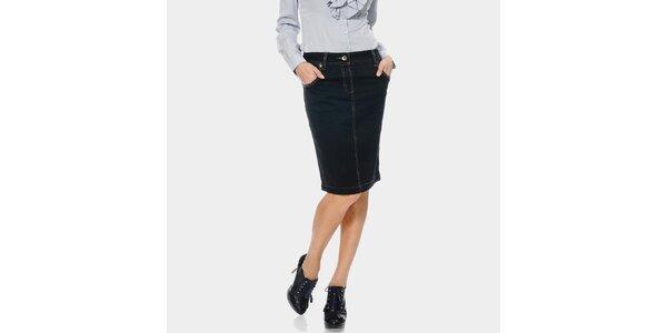 Dámska džinsová sukňa ODM Fashion