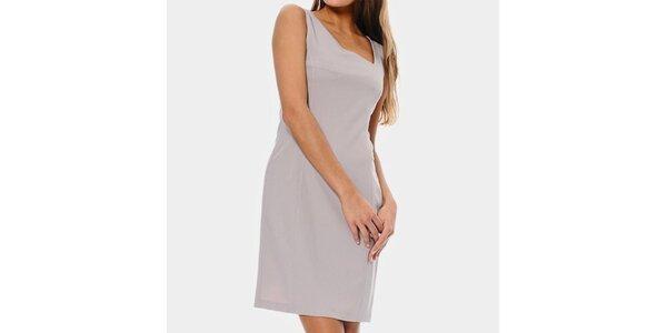 Dámske púdrové púzdrové šaty ODM Fashion