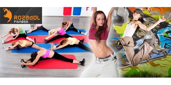 Cvičenie podľa vašej chuti za 1,60 Eur. Zumba, Bodywork či Fat burner.