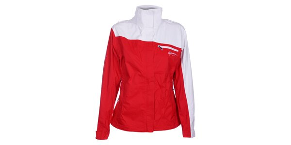 Dámska červeno-biela bunda Loap