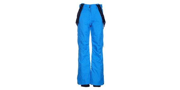 Dámske žiarivo modré lyžiarske nohavice Loap