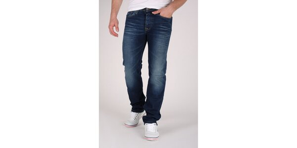 Pánske tmavo modré džínsy Pepe Jeans