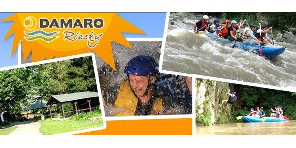 Len 35 Eur za 2 dňový zážitkový pobyt so splavom na ORAVE!