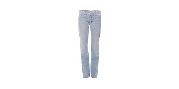 Dámske skinny džínsy značky Gas vo svetlo modrej