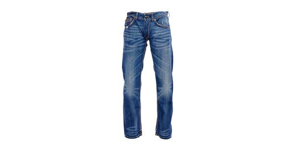 Moderné pánske džínsy značky Rare