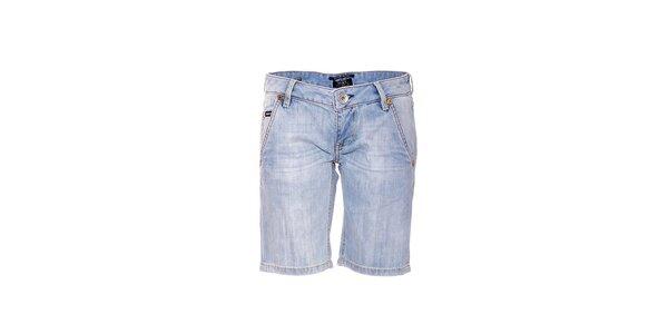 Dámske svetlo modré džínsové kraťasy značky Rare