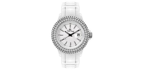 Biele hodinky so silikónovým remienkom Riko Kona