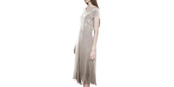 Dámske béžové šaty Gene