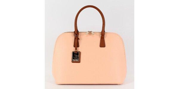 Dámska kabelka Beverly Hills Polo Club v ružovej farbe