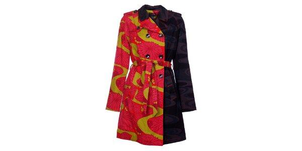 Dámsky kabát Custo Barcelona s potlačou