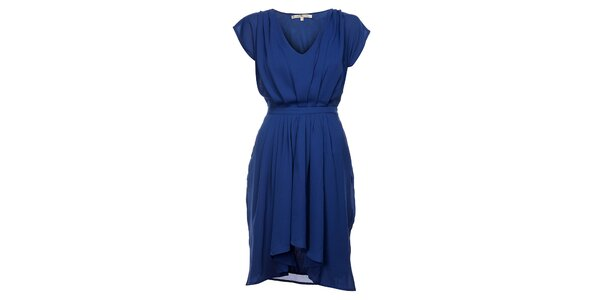 Dámske žiarivo modré šaty Uttam Boutique