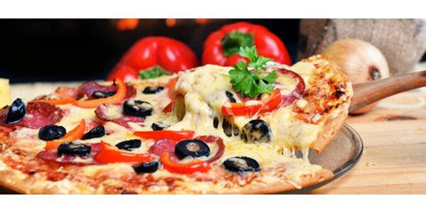 Pizza zo špeciálnej talianskej múky