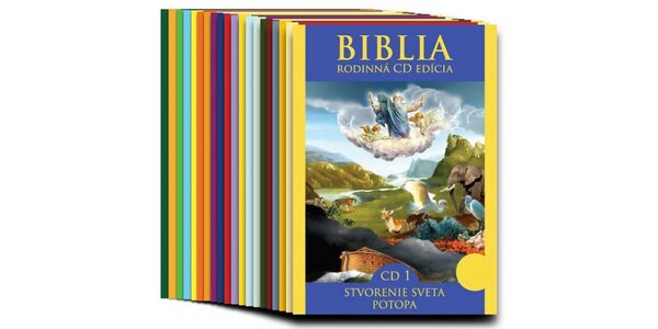 BIBLIA - Starý zákon (20 CD)