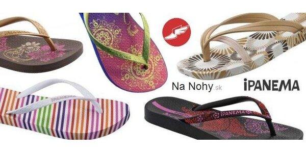 7,50 Eur za kupón v hodnote 15 Eur na nákup sandálov IPANEMA so zľavou 50%!