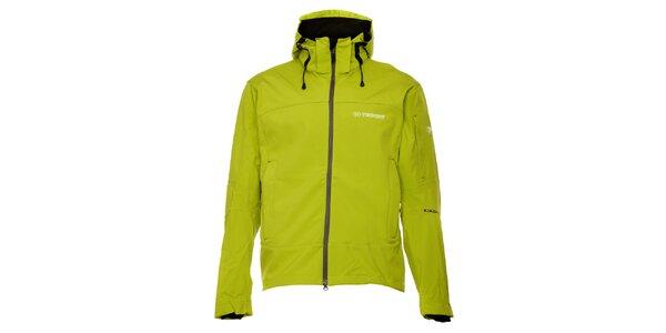 Dámska zelená silnejšia outdoorová bunda Trimm