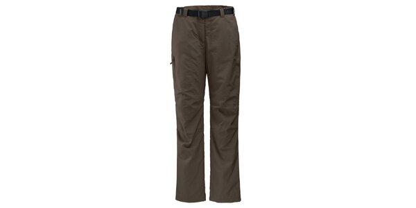 Dámske khaki funkčné outdoorové nohavice Maier