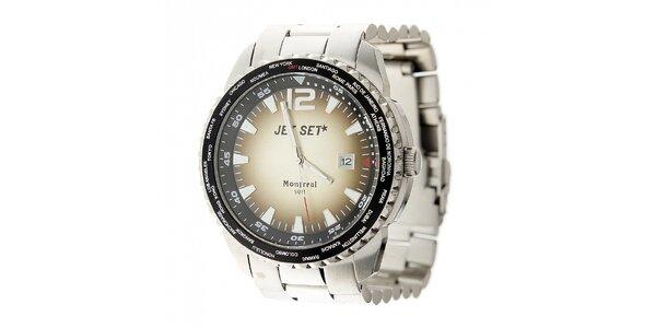 Pánske ocelové hodinky Jet Set