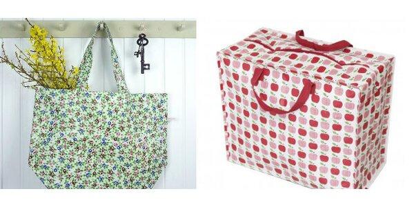 Nákupná SHOPPING taška a úložná MAXI taška