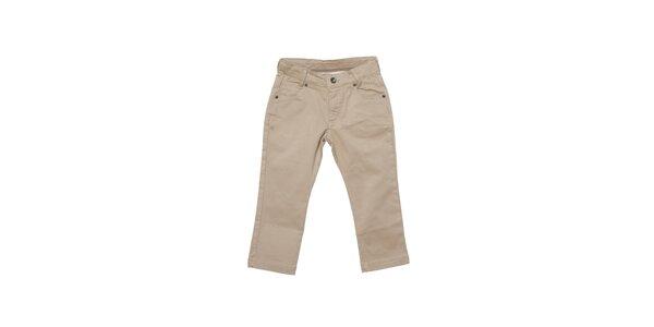 Detské svetlo béžové nohavice Buby