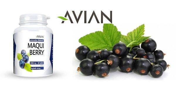Najsilnejší antioxidant na svete Maqui Berry