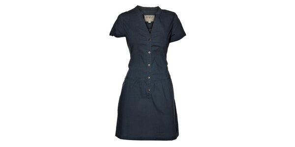 Dámske tmavo modré šaty Bushman