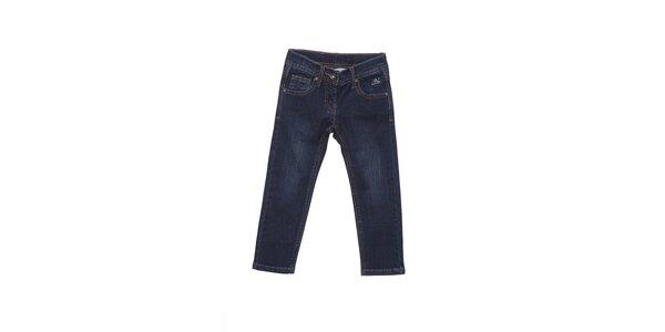 Detské tmavo modré džínsy Buby