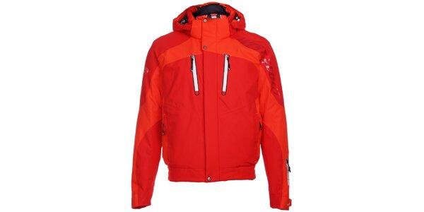 Pánska sýto červená lyžiarska bunda West Scout s membránou