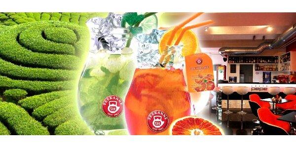 0,69 Eur za osviežujúci džbán Fresh ice tea od Teekanne.