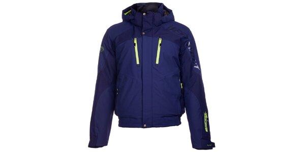 Pánska modrá lyžiarska bunda West Scout s membránou