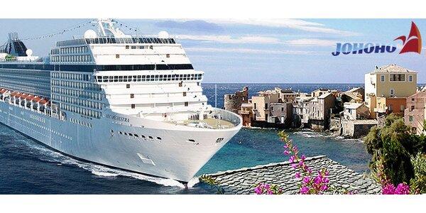 Luxusná plavba loďou po západnom Stredomorí