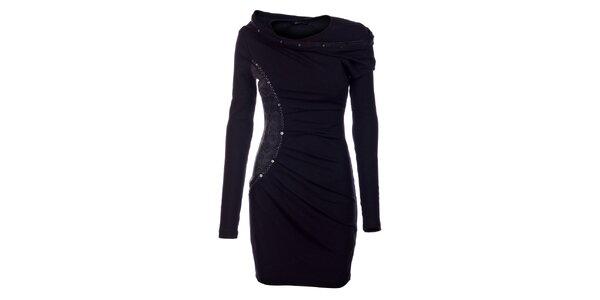 Dámske čierne šaty Angel Never Die