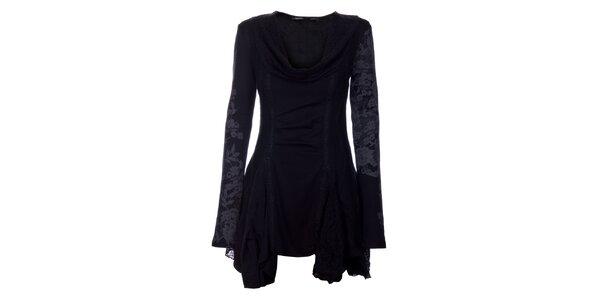 Dámske čierne šaty Angels Never Die