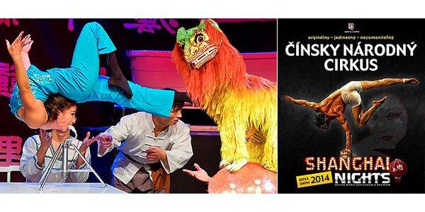 Čínsky národný cirkus SHANGHAI NIGHTS