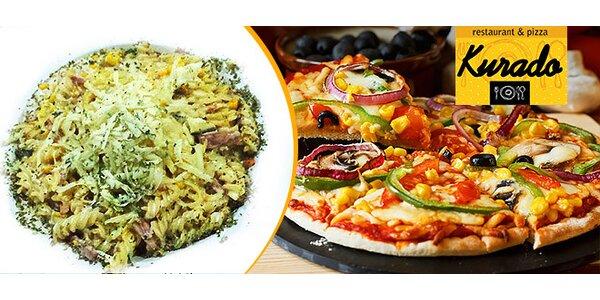 Pizza alebo cestoviny v centre mesta