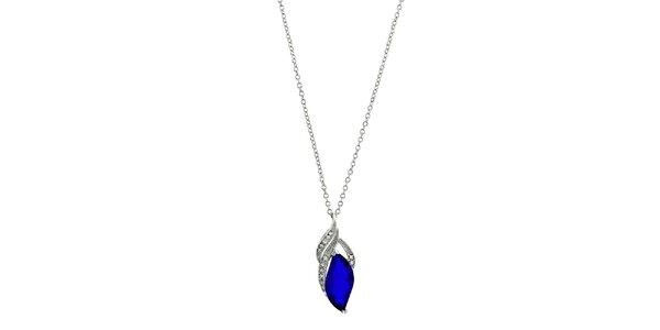 Dámsky náhrdelník s modrou kvapkou Art de France