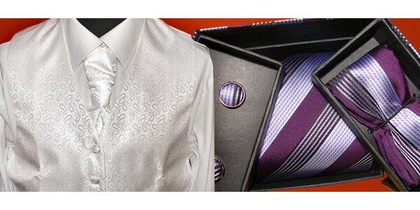 Luxusná kravata od 4,90 Eura