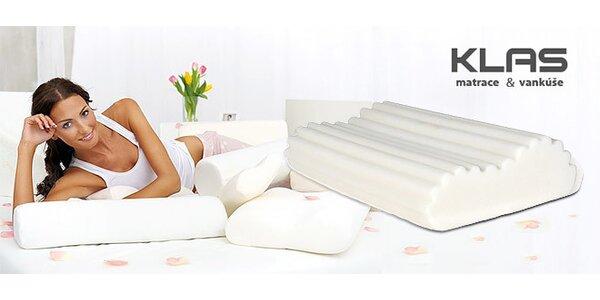 Zdravotný vankúš pre dokonalý spánok