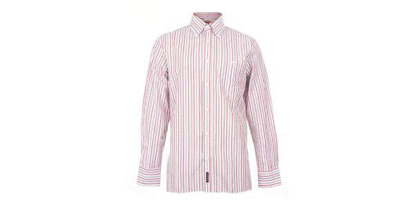 Pánska ružová pruhovaná košeľa The Spirit of 69