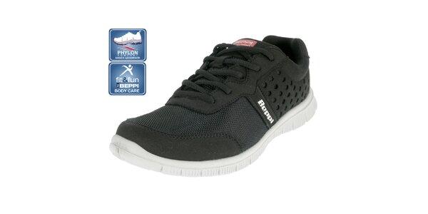 Pánske čierne športové topánky Beppi