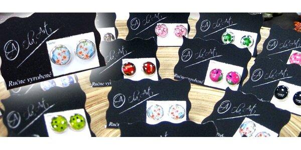 1,99 Eur za originálne ručne vyrábané náušnice Ola Art Design!!!