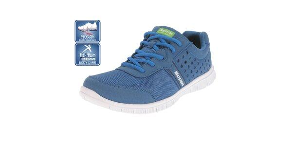 Pánske modré športové topánky Beppi