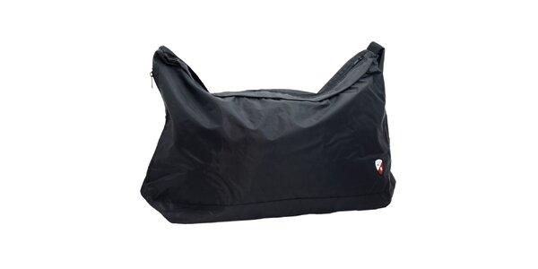Pánska čierna športová taška Lamborghini